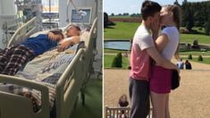 Teenage Girl Hugs Her Boyfriend Before His Life Support Is Turned Off Turn Off, Dwayne Johnson, Best Funny Pictures, Hugs, Fails, Places To Visit, Boyfriend, Shit Happens, Memes