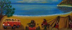 Joomla Templates, Woodstock, Oil On Canvas, Euro, Jazz, Rock, Facebook, Gallery, Blue
