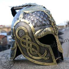 Viking Armor, Viking Helmet, Arm Armor, Medieval Armor, Medieval Fantasy, Larp, Armadura Medieval, Female Armor, Armor Concept