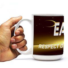 "Earth Day-space Design-15oz Coffee Mug - ""Earth Day Respect Our Planet"" VictoryStore http://www.amazon.com/dp/B00U7UEKXG/ref=cm_sw_r_pi_dp_5KrWvb10NMFM0"