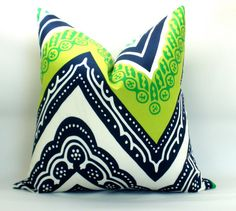 OUTDOOR  Trina Turk Tangier Frame pillow cover in by sparkmodern