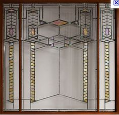 Holly's Arts and Crafts Corner: Frank Lloyd Wright: Stained Glass