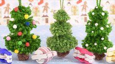 sapins de Noël en po