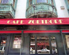 Cafe Zoetrope,para experimentar os vinhos do Coppola em São Francisco