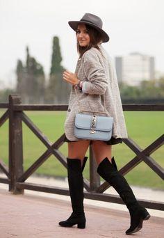 Valentino Lock Bag Tendencia Street Style Moda 3