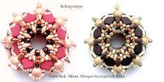 Kekagyöngye Ornament Wreath, Ornaments, Wreaths, Beads, Home Decor, Beading, Decoration Home, Door Wreaths, Room Decor