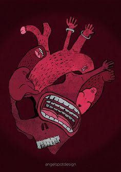 St. Anger - illustration by Angelo Petito - Massoneria Creativa / Masonry - www.massoneriacreativa.com