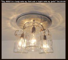 mason jar track lighting. mason jar light fixture of hanging pints track lighting e