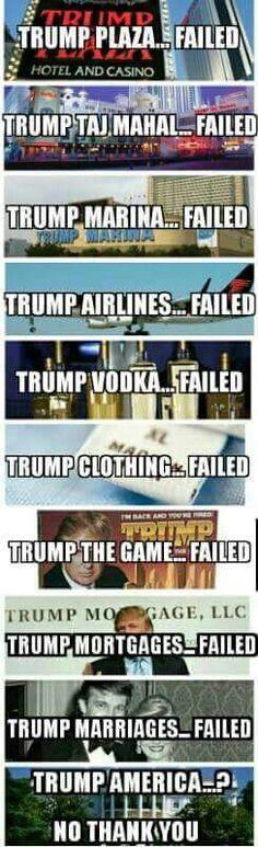 Trump...Failed