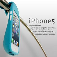 Whale 3D Silicone Case for iPhone 5 at U$25.90