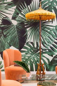 Commercial and residential interior design studio located in Austin, Texas. Tropical House Design, Tropical Home Decor, Tropical Interior, Modern Tropical, Tropical Houses, Tropical Colors, Estilo Tropical, Residential Interior Design, Interior Design Studio