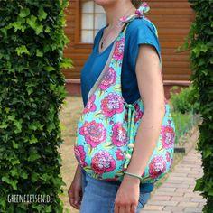 Tutorial | Mozzie Bag - Nähanleitung & Schnitt für eine lässige Sommertasche