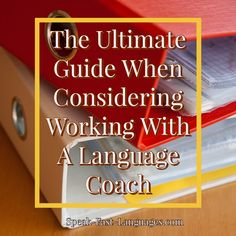 SP | The Ultimate Guide When Considering Working With A Language Coach Learn French Beginner, French For Beginners, Learning Goals, Learning Process, Positive Psychology, Positive Mindset, Brainstorming Activities, Coaching Techniques, Grammar Tips