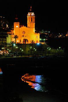 Sitges @ Night  #turistesdequalitat #tdq (Catalunya - Catalonia)