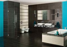 Metallic Black & Silver Nero Grafitto Bathroom Wall And Floor Porcelain Tile, Wall And Floor Tiles, Wall Tiles, Tiles Online, Black Tiles, Porcelain Tile, Bathroom Wall, Bathtub, Flooring, Metallic