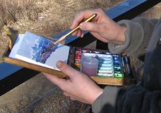 Painting Plein Air with the Pochade : paintmorenow.com