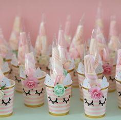 Diy Unicorn Birthday Party, Birthday Treats, Birthday Party Themes, Diy Birthday Decorations, Unicorn Crafts, First Birthdays, Party Favors, Candy, School
