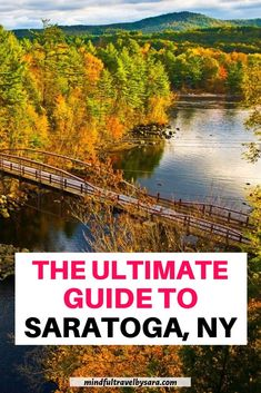 Looking for the Best things to do in SARATOGA SPRINGS NY? Here you have my Saratoga Springs Travel Guide with the best travel tips Romantic Honeymoon Destinations, Honeymoon Tips, Honeymoon Pictures, Honeymoon Places, Usa Travel Guide, Travel Blog, Travel Usa, Travel Tips, Saratoga Springs Restaurants