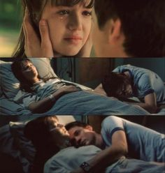 a walk to remember,mandy moore, shane west, landon, jamie,hospital