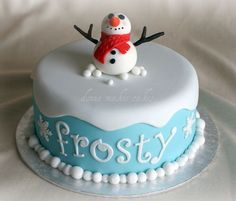 Love the base of it- and the script for frosty
