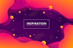 Abstract background with liquid effect and memphis Luxury Background, Waves Background, Paint Background, Geometric Background, Geometric Shapes, Orange Background, Creative Flyer Design, Creative Flyers, Creative Icon
