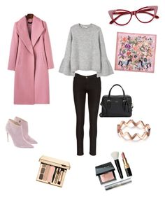 """""""Look of the Day!"""" by christina-kontogianni on Polyvore featuring MANGO, Ralph Lauren, Kate Spade, Gucci and Bobbi Brown Cosmetics"""