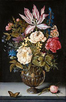 Ambrosius Bosschaert the Elder - Bouquet of Flowers in a Glass Vase - Google Art Project - Ambrosius Bosschaert - Wikipedia