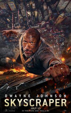 Skyscraper - new movie poster https://teaser-trailer.com/movie/skyscraper/ #Skyscraper #SkyscraperMovie #DwayneJohnson