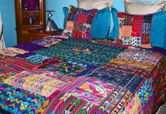 guatemalan woven bedspreads - Google Search