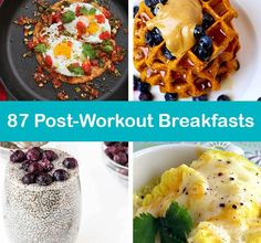 Fuel your muscles after a morning gym workout with one of these incredibly easy, high protein breakfast recipes. Post Workout Breakfast, Post Workout Drink, High Protein Breakfast, Post Workout Protein, Pre Gym Breakfast, Post Workout Snacks, After Workout Food, Gym Workout Tips, Hunting