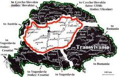 Hungary lost 71.5% of her land & 63% of her population........ I'm assuming this would be the reason why it's very hard to find genealogy records