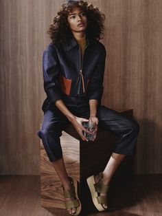 MALAIKA FIRTH GOES DEMURE FOR VOGUE RUSSIA JUNE 2015