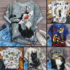 Kimono Top, Cat Clothing, Cats, Artwork, Clothes, Women, Fashion, Outfits, Moda