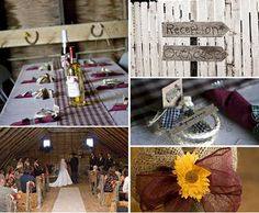 like the table cloth COUNTRY Wedding Pinterest Weddings