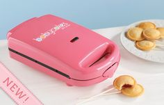 Mini pie pop maker!! awesomeness!