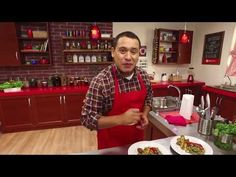 YouTube Love Food, Zucchini, Christmas Sweaters, Men Casual, Tortillas, Recipes, Youtube, Vegetables, Meals