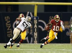 WAS v NO 09-09-12 ~ Pure athleticism Robert Griffin III