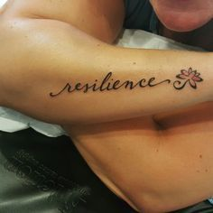 resilience wrist tattoo - Google Search