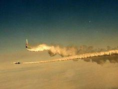 Russian Cheif Test Pilot, Anatoly Kvochur Performing Cobra Maneuver on Su-27PD