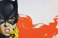 """Bat-Girl II"" by Scott Rohlfs"