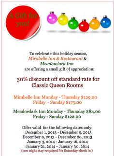 New Year Special! #NewYear #Special #Solvang #Inn #vacation http://solvanginns.com/index.html