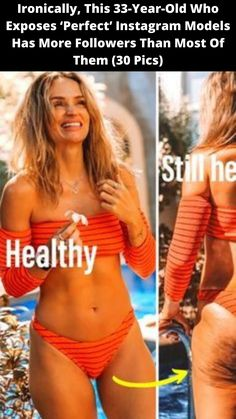#Ironically, This 33-Year-Old Who #Exposes 'Perfect' Instagram #Models Has More #Followers Than Most Of Them (30 Pics) Silly Memes, Funny Memes, Hilarious, Wtf Funny, Twisted Humor, Instagram Models, Body Image, Perfect Body, Perfume