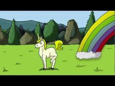 Derp A. Doo The Unicorn - Pooping Rainbows - YouTube