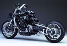 Kawasaki Concours 14 stripped.