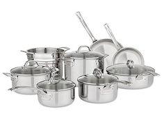 Viking Tri-Ply 13-Piece Cookware Set