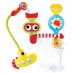 Juego de baño con actividades para niños Submarine Spray Station