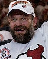 Ken Daneyko sporting a great playoff beard and the greatest smile hockey has ever seen!