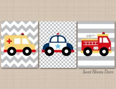 ***UNFRAMED PRINT on UltraPro Satin Luster Photo Paper, Not Canvas. You will need your own frames***  Adorable Transportation theme nursery wall art print set for your baby nursery or kids room.  More Transportation theme Prints can be found under: https://www.etsy.com/shop/SweetBloomsDecor/search?search_query=transportation&order=date_desc&view_type=gallery&ref=shop_search  PRINTS: Includes set of 3 UNFRAMED prints on 68lb. UltraPro Satin Luster Photo Paper. Please note that these designs…
