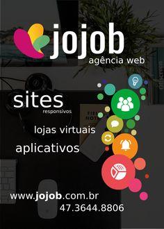 Pré Impressão Flyer JOJOB AGÊNCIA WEB [frente]