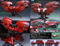 MODELER:  g-trance  MODEL TITLE:  NZ-999 Neo Zeong (High Detail ver.)  MODIFICATION TYPE:  custom decals, custom paint job, custom panel lin...